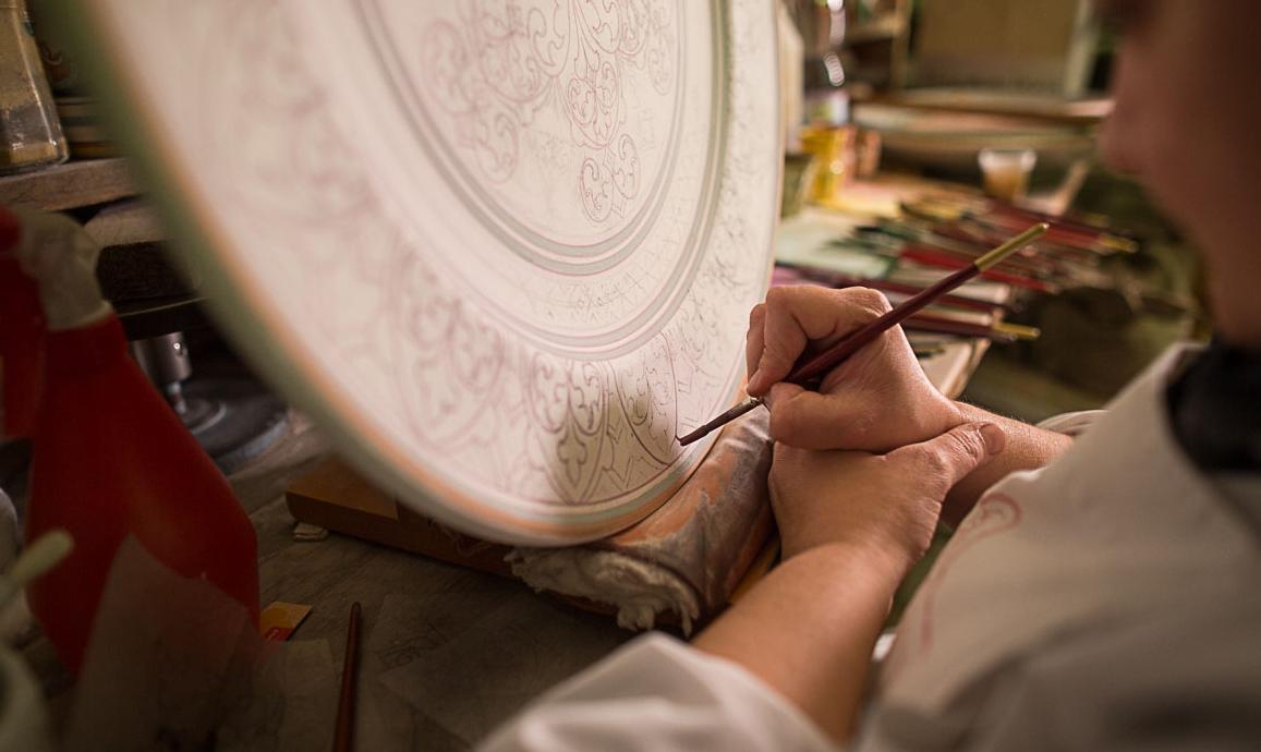 laboratorio ceramiche Deruta