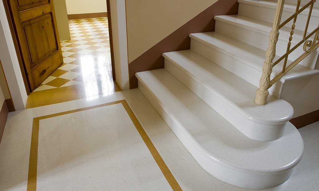 The masters of marble grit tiles: Antonio Benedet (MIPA Srl)
