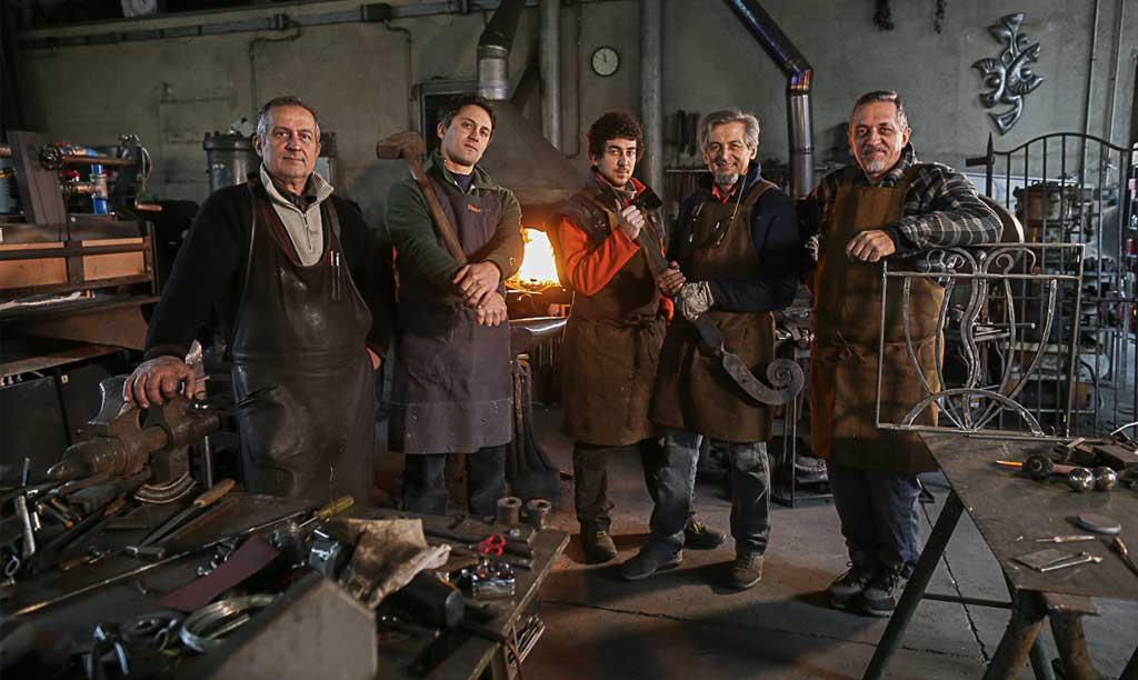 The master of wrought-iron: the Scarsi Bernardo