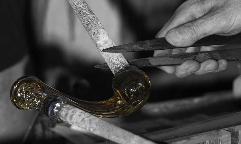 The master of blown glass: de Majo Illuminazione