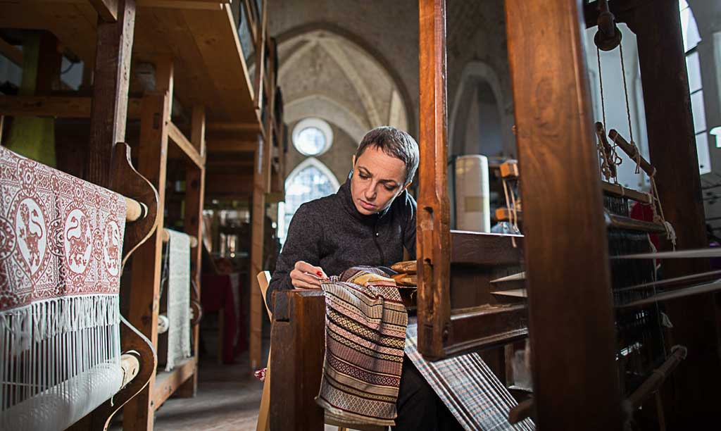 Le Maestre del Tessile - Atelier Giuditta Brozzetti