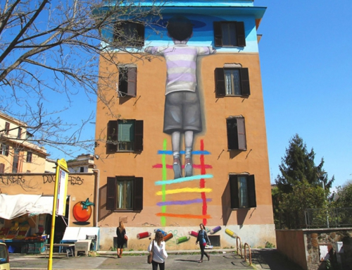 Redevelop the suburbs of the Italian towns: Street Art