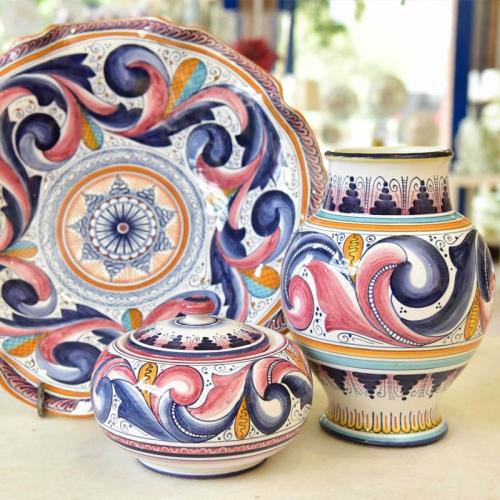 italia bellissima Faenza artistic ceramics