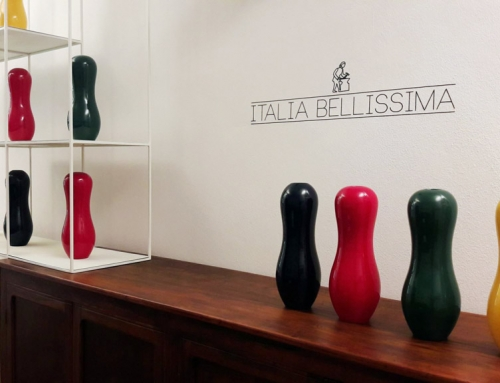 """Back"", the ""Italia Bellissima"" vase: when art meets craft skill"