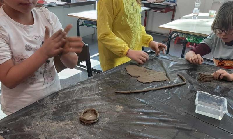 Laboratorio argilla
